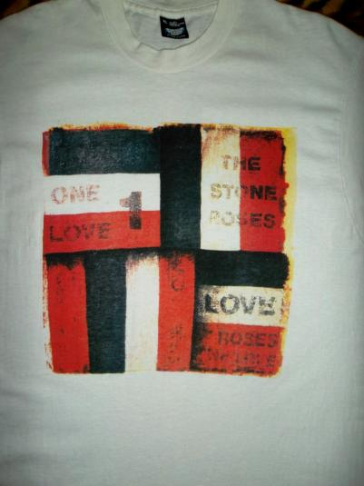RARE THE STONE ROSES 1990 PROMO ONE LOVE