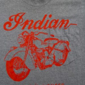 Vintage American Indian Motorcycle 60s-70s T-shirt