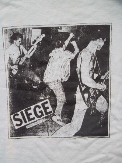 VINTAGE SEIGE PROMO TOUR DROP DEAD E.P T-SHIRT
