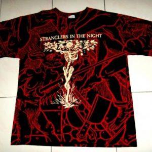 VINTAGE RARE THE STRANGLERS 1992 PROMO TOUR PUNK T-SHIRT