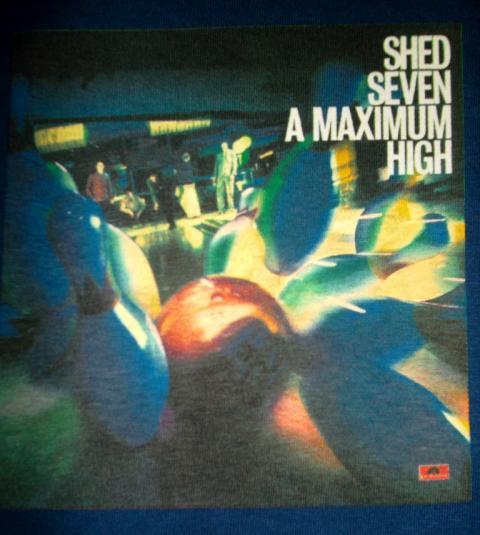 VINTAGE SHED 7 SEVEN 1996 MAXIMUM HIGH PROMO T-SHIRT