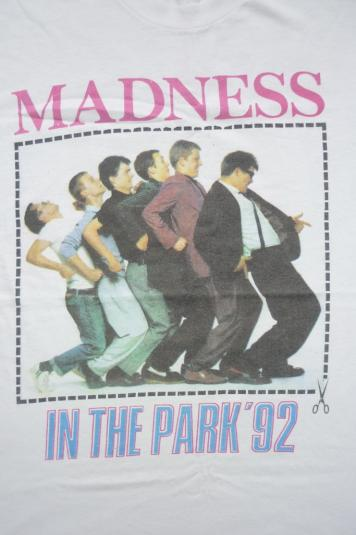 MADNESS 'IN THE PARK 1992' CONCERT T-SHIRT