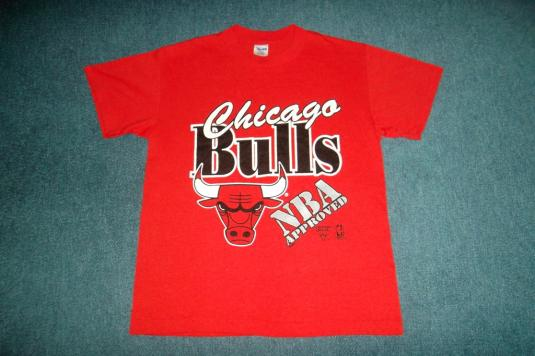 Vintage 1991 Chicago Bulls NBA Basketball T-shirt