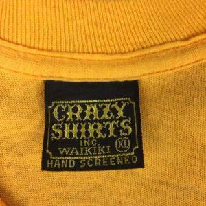 Vintage 60s 70s Crazy Shirts DC Comics Superman Logo T-Shirt