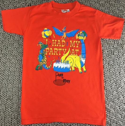 Vintage 80s Putt-n-Play Miniature Golf Putt-Putt T-Shirt S