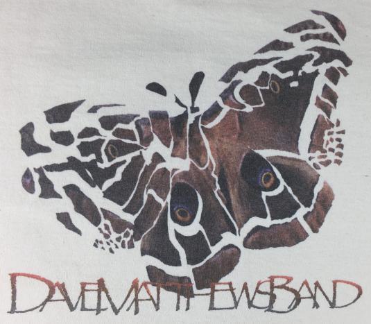 Vintage 90s Dave Matthews Band Concert Tour T-Shirt L
