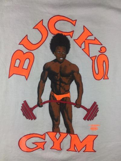 "Vintage 1987 Little Rascals Buckwheat ""Buck's Gym"" Tank Top"