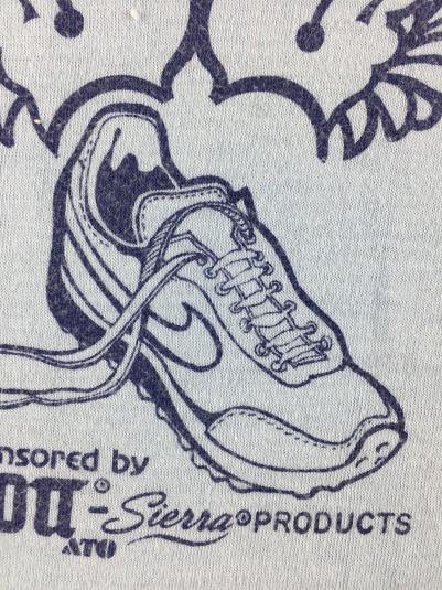 Vintage 1984 Nike Sierra Madre Mt. Wilson Race T-Shirt