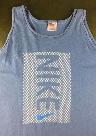 Vintage 80s 90s Nike ONeita Sleeveless Tank Top T-Shirt XXL