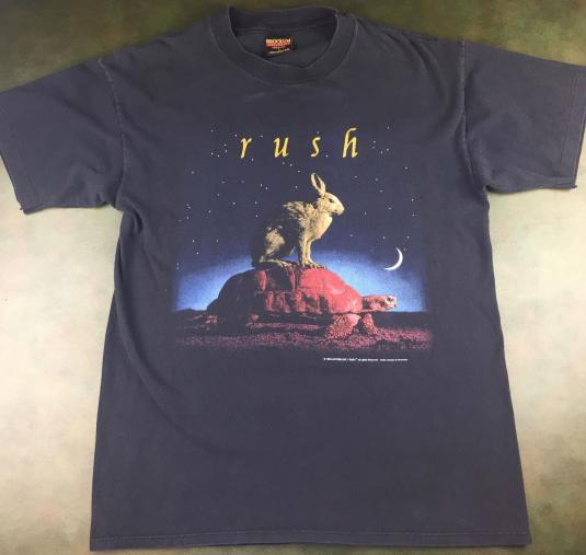 Vintage 1993 Licensed RUSH Counterparts Tour Concert T-Shirt