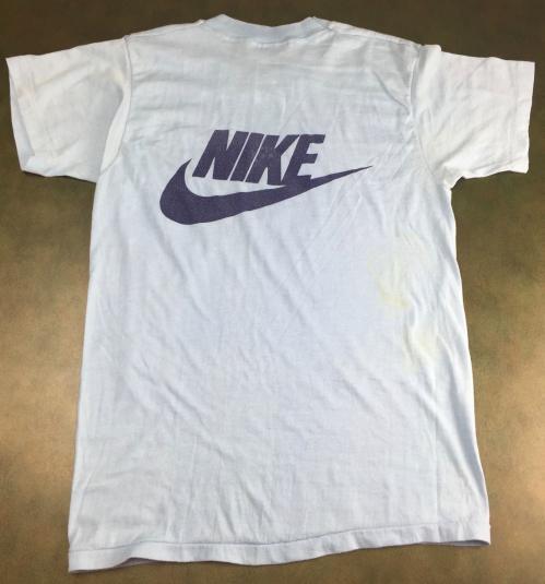 True Vintage 1984 Nike Trail Race Super Screen Stars T-Shirt