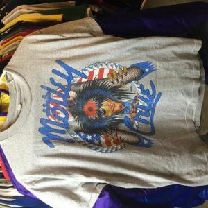 True Vintage 1987 Motley Crue Girls Girls Girls T-Shirt