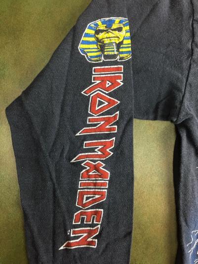 Vintage 1984-85 Iron Maiden World Slavery Tour T-Shirt