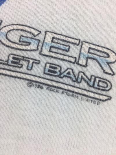 "Vintage 1986 Bob Seger Silver Bullet Band ""Like A Rock"" Tank"