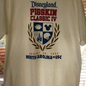 1993 Disney Pigskin Classic IV USC VS North Carolina XL