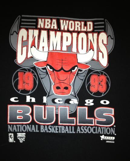 1993 Chicago Bulls World Champions Shirt