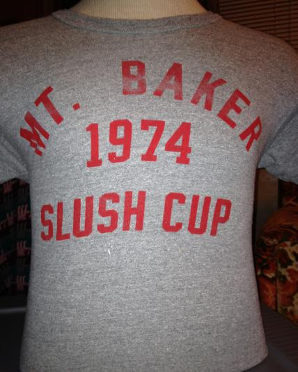 MT. Baker Slush Cup 1974 T-Shirt