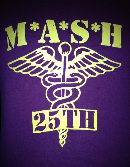 MASH M*A*S*H 25th Anniversary 1987 T-Shirt