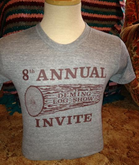 Deming Log Show 1970 8th Annual Rayon T-Shirt