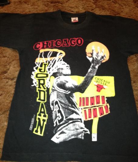 Michael Jordan Slamma Jamma 1990s T-Shirt
