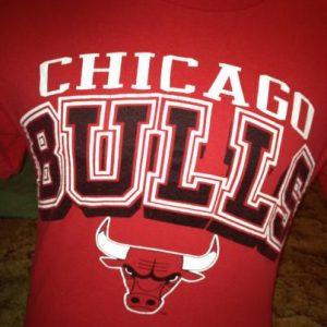1990 Logo 7 Chicago Bulls shirt