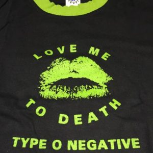 TYPE O NEGATIVE - love me to death