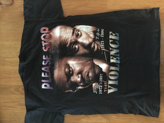 1996 2pac / B.I.G crazy vintage graphic tee!