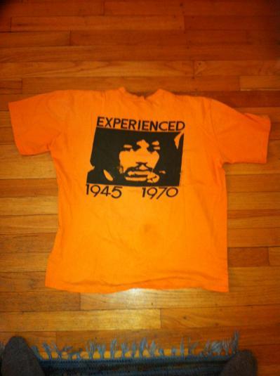 1971 Jimi Hendrix shirt