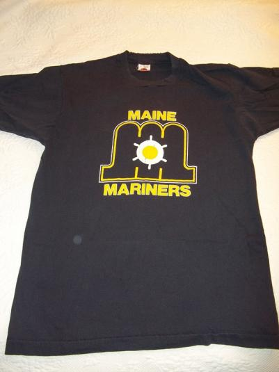 Maine Mariners 80's AHL Vintage T-Shirt