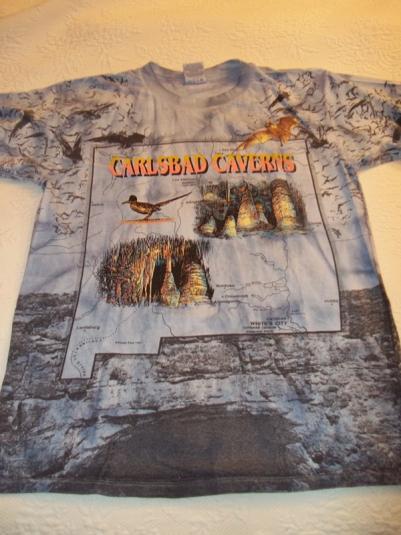 Carlsbad Caverns 1995 Vintage T-Shirt