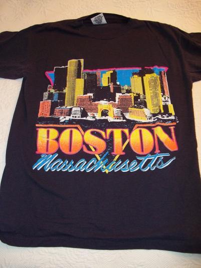 Boston, Massachusetts Vintage T-Shirt