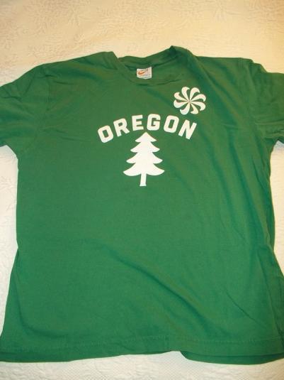 Nike Oregon 80's Pinwheel Swoosh