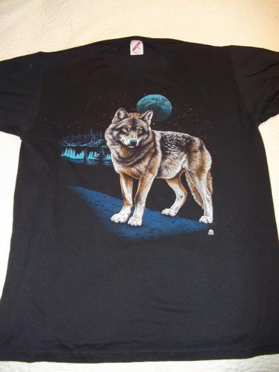 Wolf Moon 1987 LSJ Sportswear