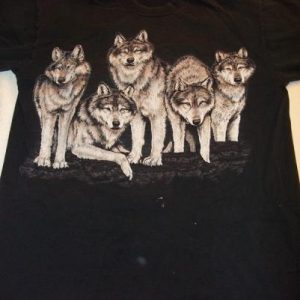 Roger Williams Park Zoo Wolves Vintage T-Shirt