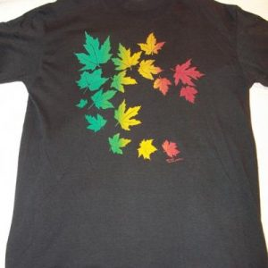 Boland Graphics 1985 Leaves Vintage T-Shirt