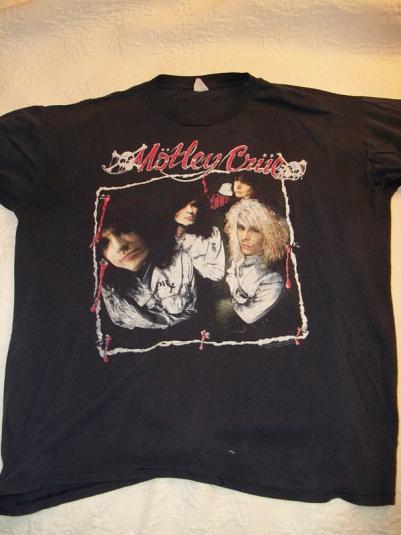Motley Crue 1989 Dr. Feelgood Tour Vintage T-Shirt