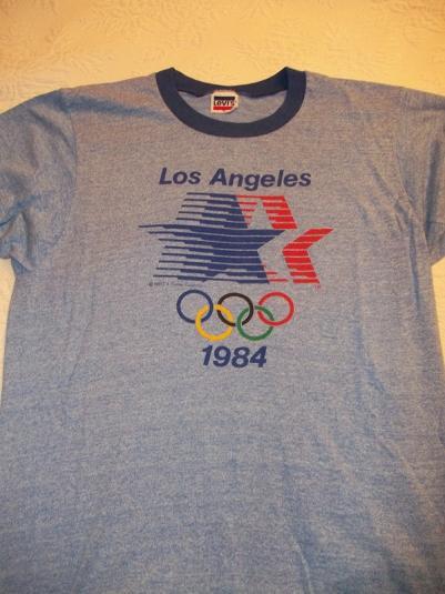 LA Olympics 1984 Vintage T-Shirt