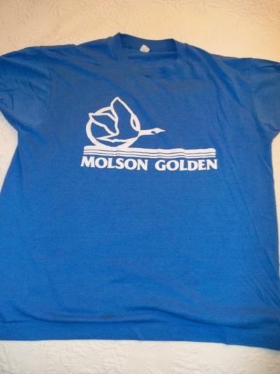 Molson Golden 80's VIntage T-Shirt