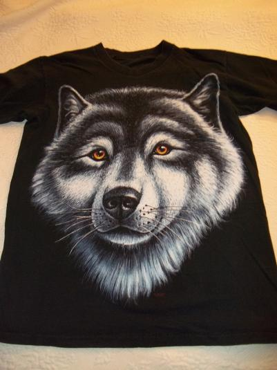 Wolf Face Vintage T-Shirt