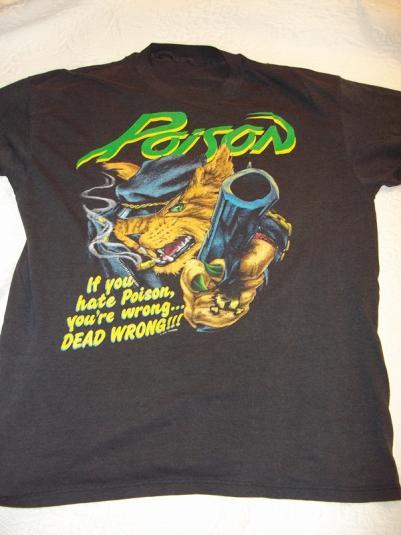 Poison 1989 Vintage T-Shirt
