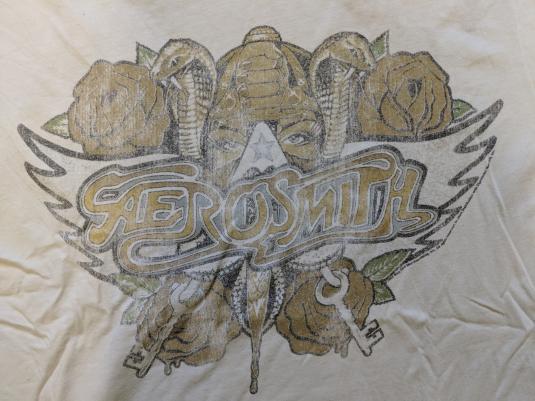 Vintage Aerosmith 1987 Tour T-shirt