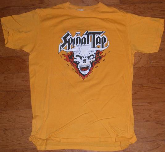 Spinal Tap 1984 tour shirt