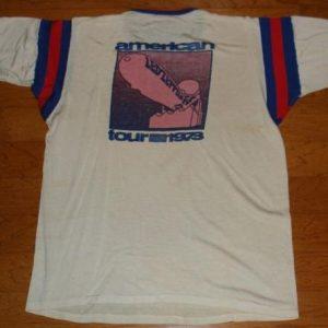 1973 Led Zeppelin Concerts West crew shirt