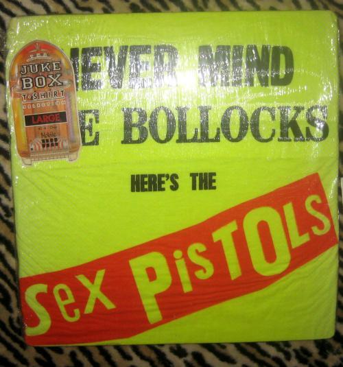 1980S ORIGINAL SEX PISTOLS NEVER MIND THE BOLLOCKS T-SHIRT