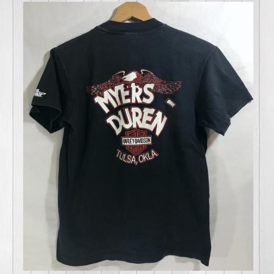 """Vintage 80's """"Make my Day…"""" Harley Davidson Tshirt"""