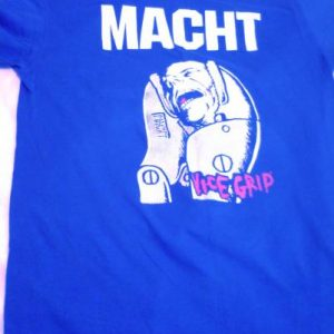 MACHT VICE GRIP GET A GRIP T-SHIRT WEHRMACHT BLUE VARIANT