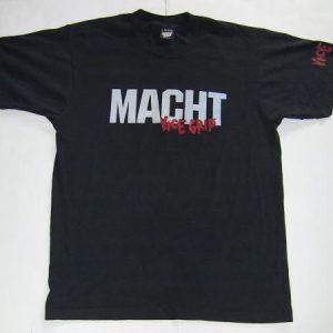 MACHT VICE GRIP T-SHIRT WEHRMACHT BLACK VARIANT VTG THRASH
