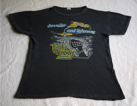 THIN LIZZY Vintage 1983 T-Shirt