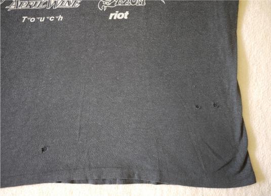 RAINBOW JUDAS PRIEST SCORPIONS Vintage 1980 T-Shirt