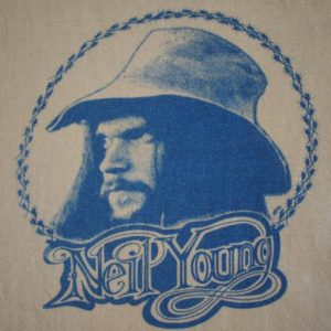 NEIL YOUNG vintage 1972 t-shirt